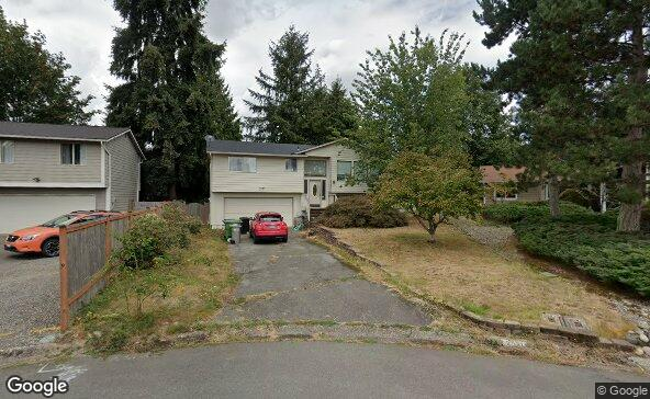 Street view of 2521 173rd Pl Se