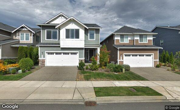 Street view of 3625 196th Pl Se