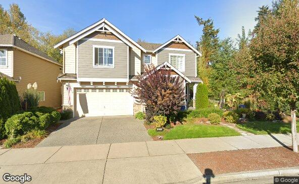 Street view of 3815 167th Pl Se