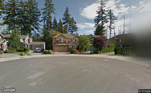 Street view of 3832 164th Pl Se