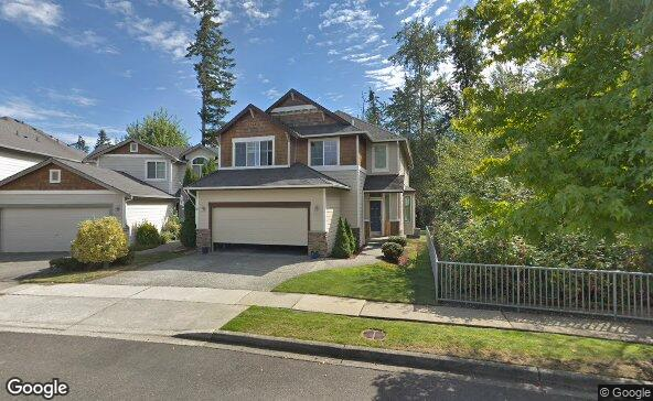 Street view of 4608 152nd Pl Se