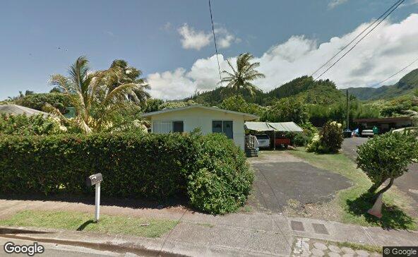 Street view of 54-134 Kawaipuna St