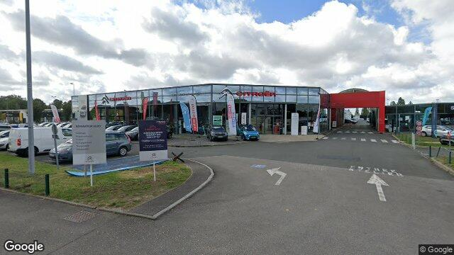 Citro n retail nantes st herblain saint herblain for Location garage saint herblain