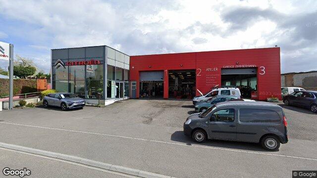 Garage carrosserie zimmermann ballersdorf - Numero de telephone garage citroen ...