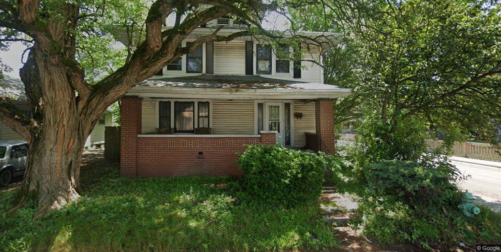 1257 Hiatt St, Indianapolis, IN 46221