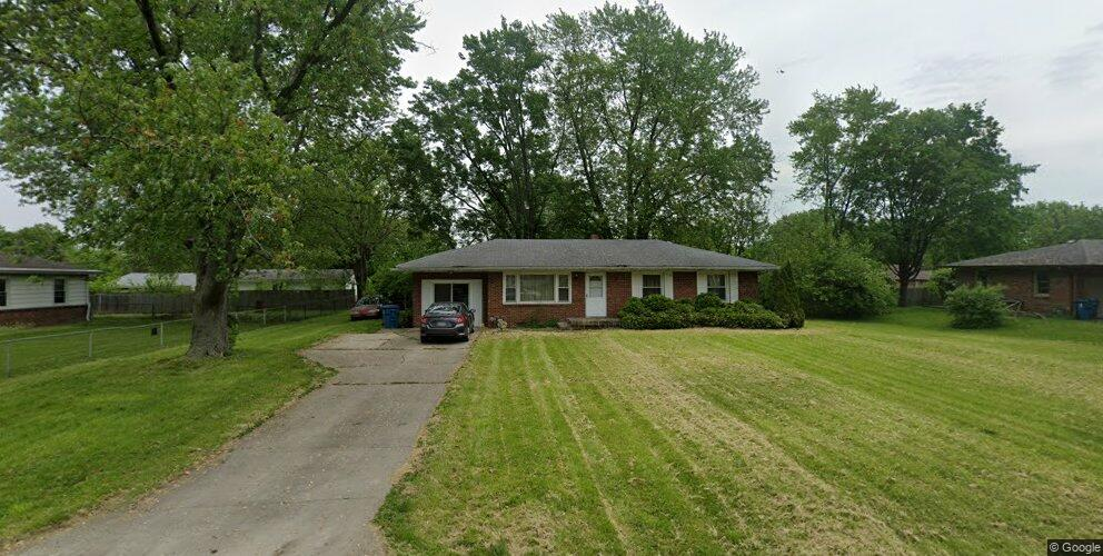 1317 S Norfolk St, Indianapolis, IN 46241
