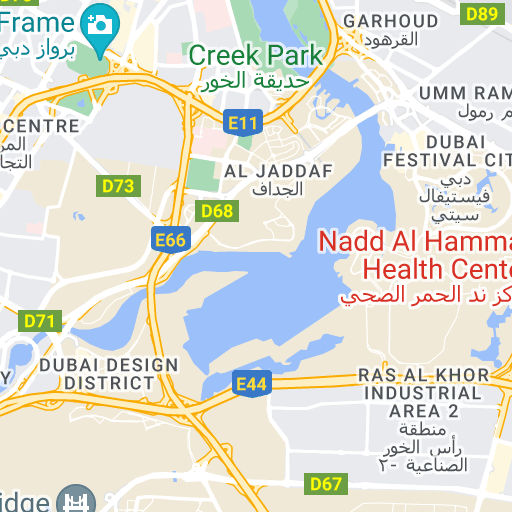 Google Map Request: Park One In Jumeirah Village Triangle