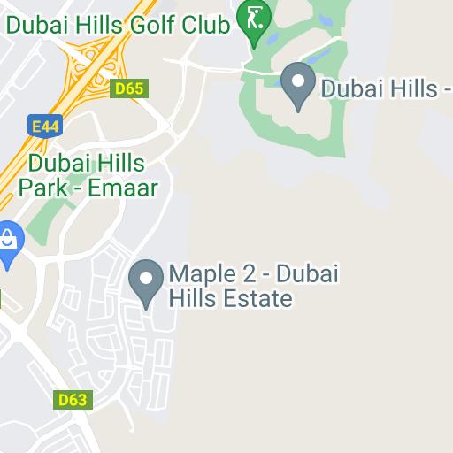 Google Map Request: Dubai Hills Estates Properties By Emaar