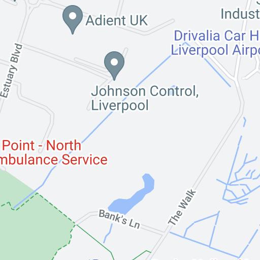 Bristol Airport Long Stay Parking >> Airport parking Liverpool International - Map | Purple Parking
