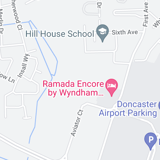 Bristol Airport Long Stay Parking >> Airport parking Doncaster Robin Hood - Map | Purple Parking