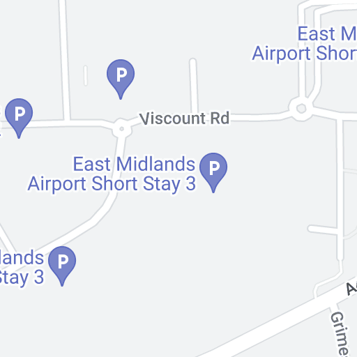 Long Stay Car Park Stansted >> Airport parking East Midlands - Map | Purple Parking