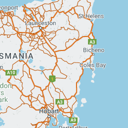 Hobart 7 Day Round Trip Travel Route With Apollo Motorhomes